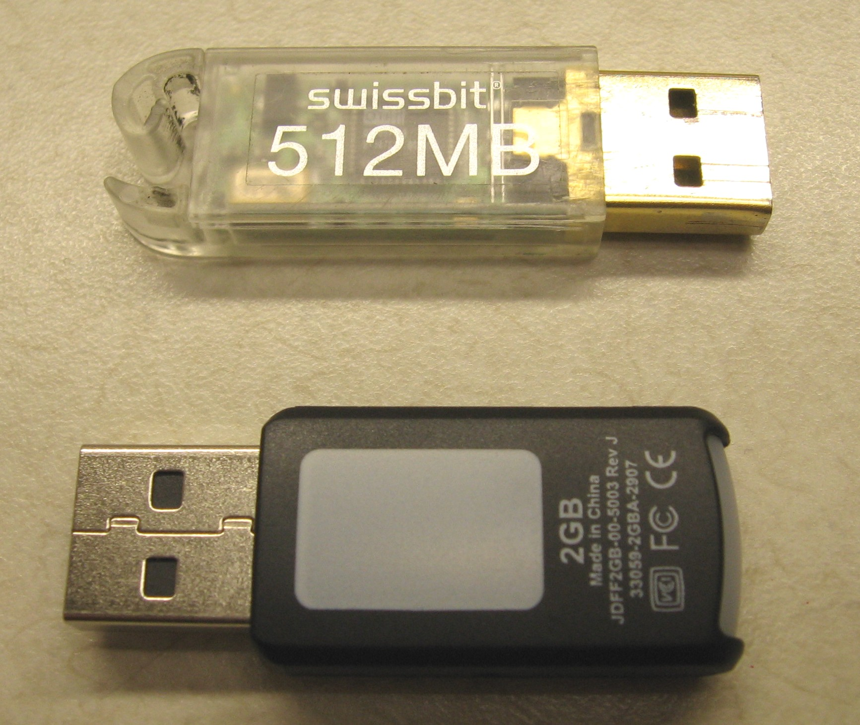 Upgrade an older Swiss Army Knife Memory Stick to 2GB