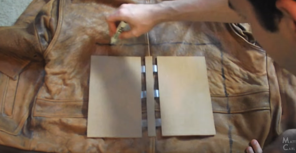Leather Binding the Covers