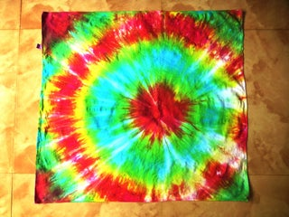 Tie Dyed Rainbow Bandana 10 Steps With Pictures Instructables