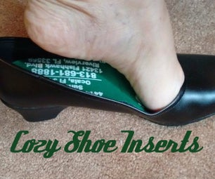 Cozy Shoe Inserts