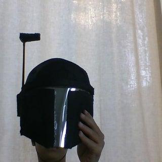 Mandalorian / Boba Fett Cardboard Helmet