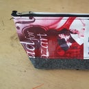 Upcycled Pouch Using Mixed Discarded Material