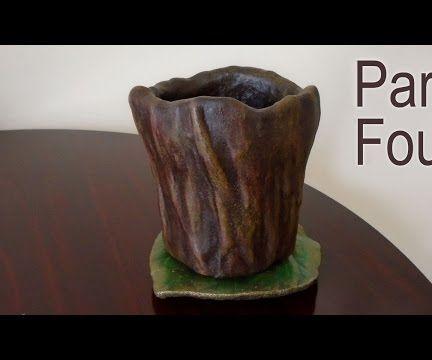 Part Four (Final) - Make A Planter For Concrete Casting - Making The Concrete Cast