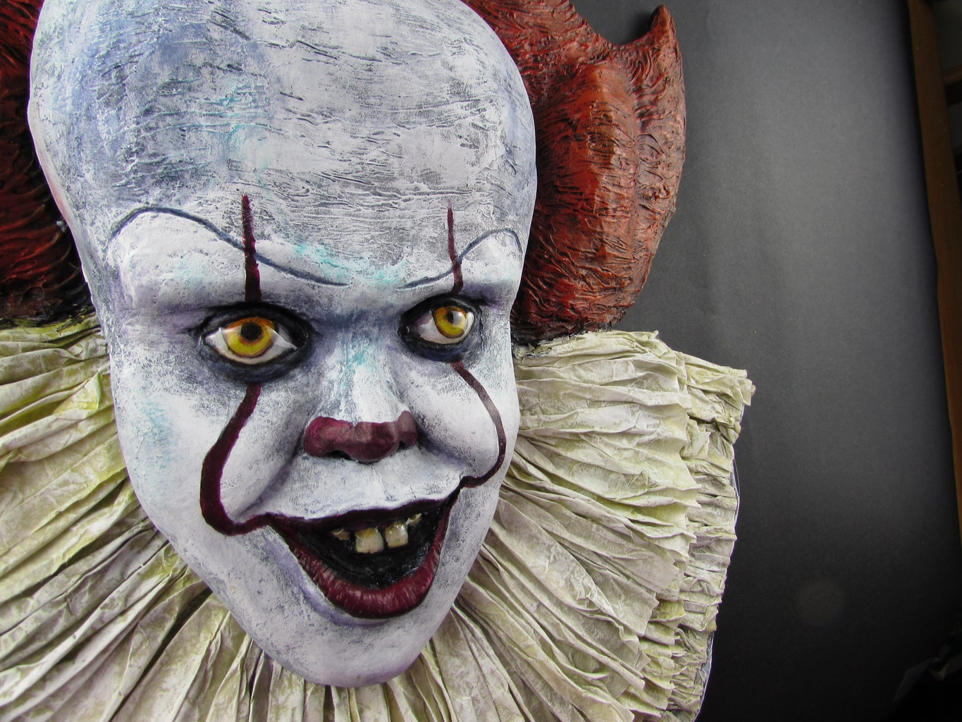 IT Pennywise Paper Mache Wall Decor