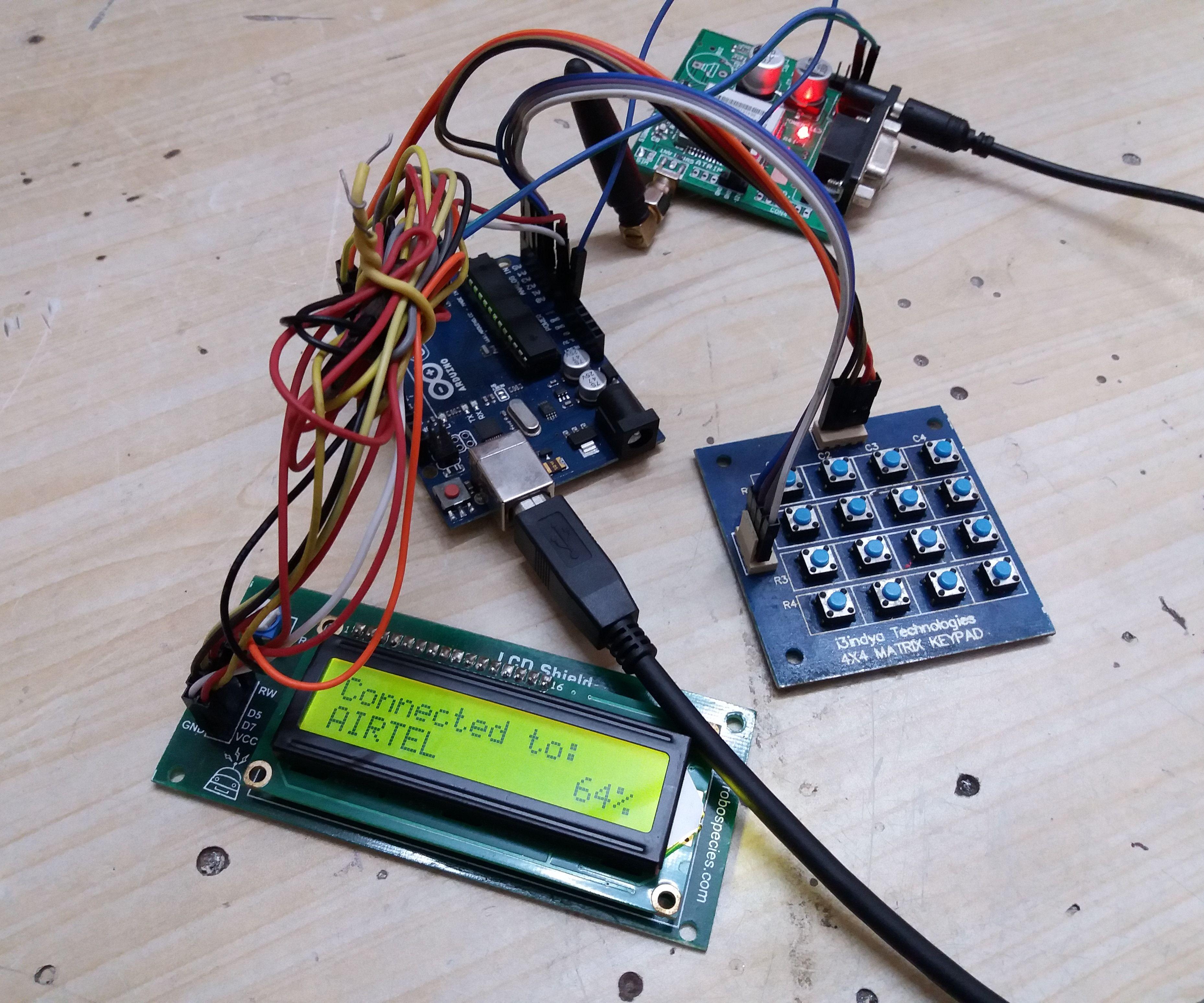 Basic Phone Using GSM and Arduino