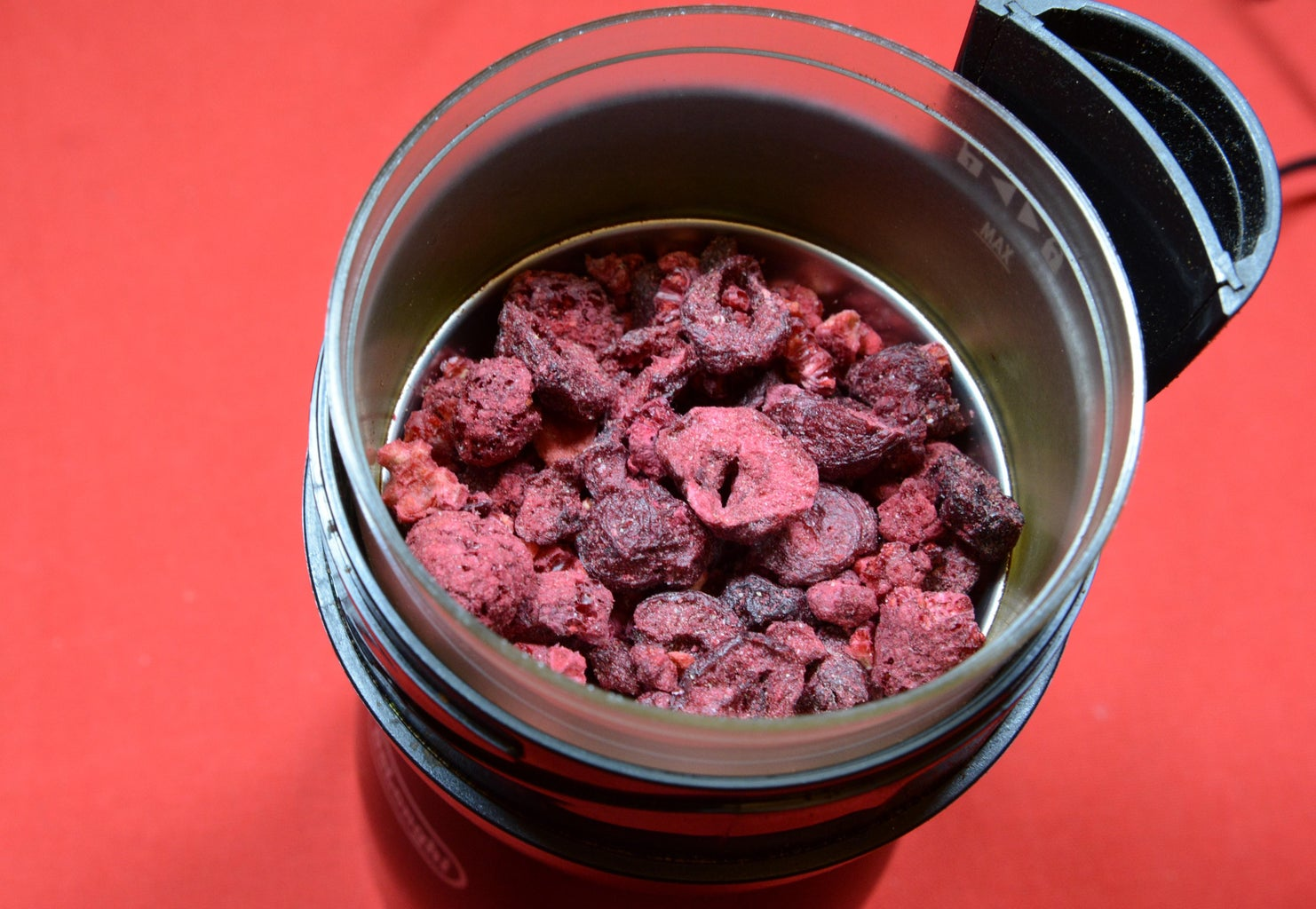 Powder Raspberries