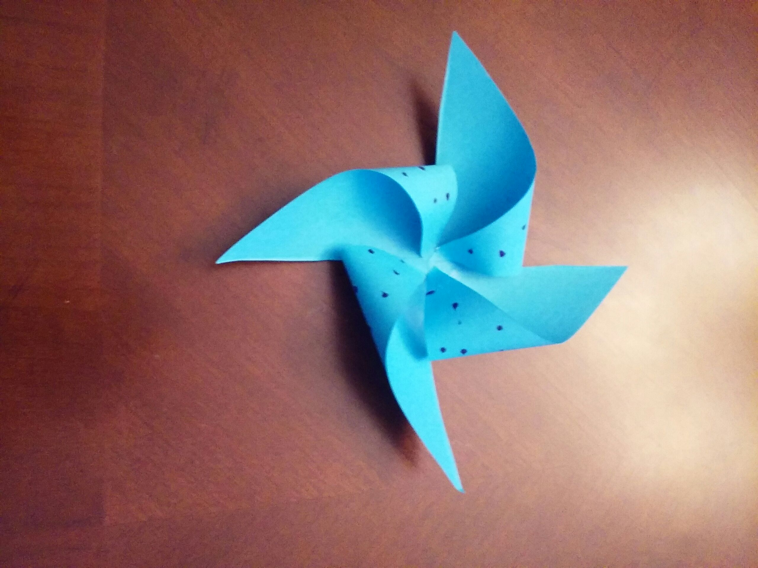 Easy Paper Windmill