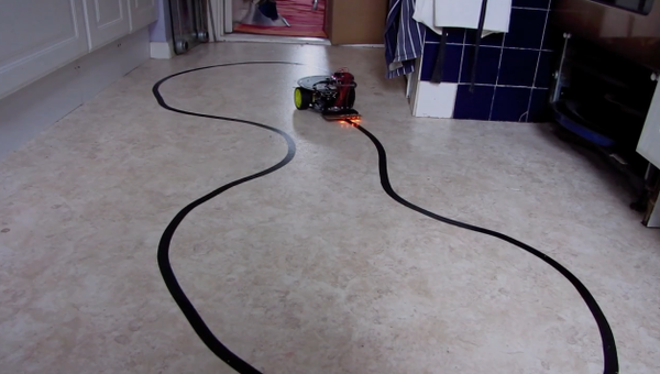 Arduino Controlled Line Following Robot