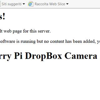 Raspberry Pi DropCam Alternative