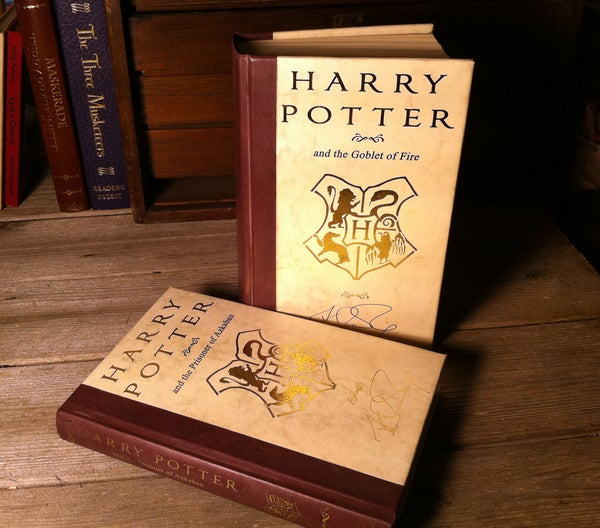 Custom Covers for Your Harry Potter Novels