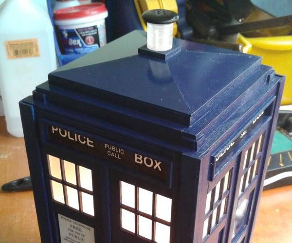 Build a TARDIS Nite Lite!