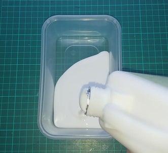 Making the Paper Mache Mixture