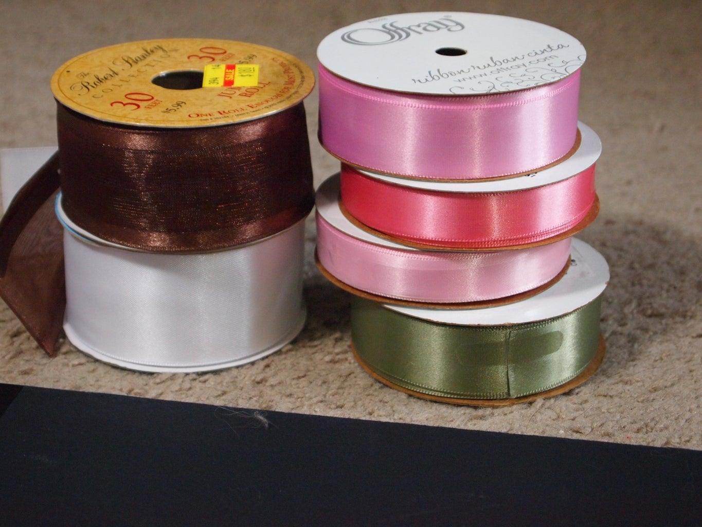 Materials for Ribbon Wedding Invitations