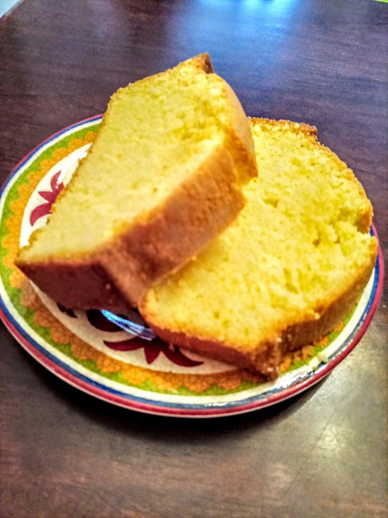 Scrumptious Pound Cake + BONUS Peanut Butter Cookies