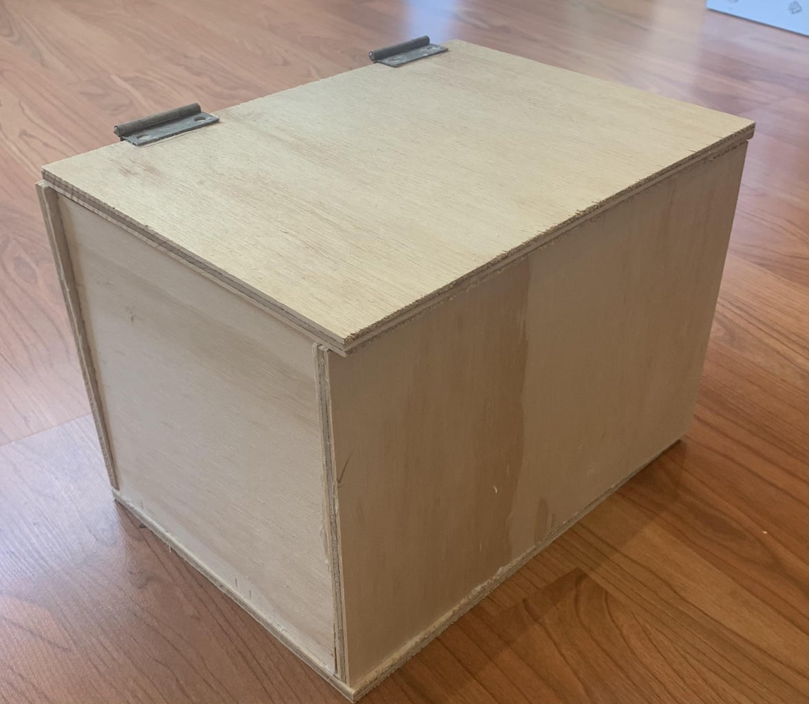 Toolbox With Homemade Materials