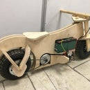 Wooden Electric Motorcycle