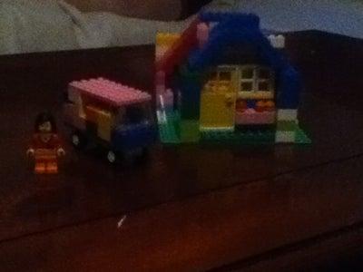 Making a Lego Girl