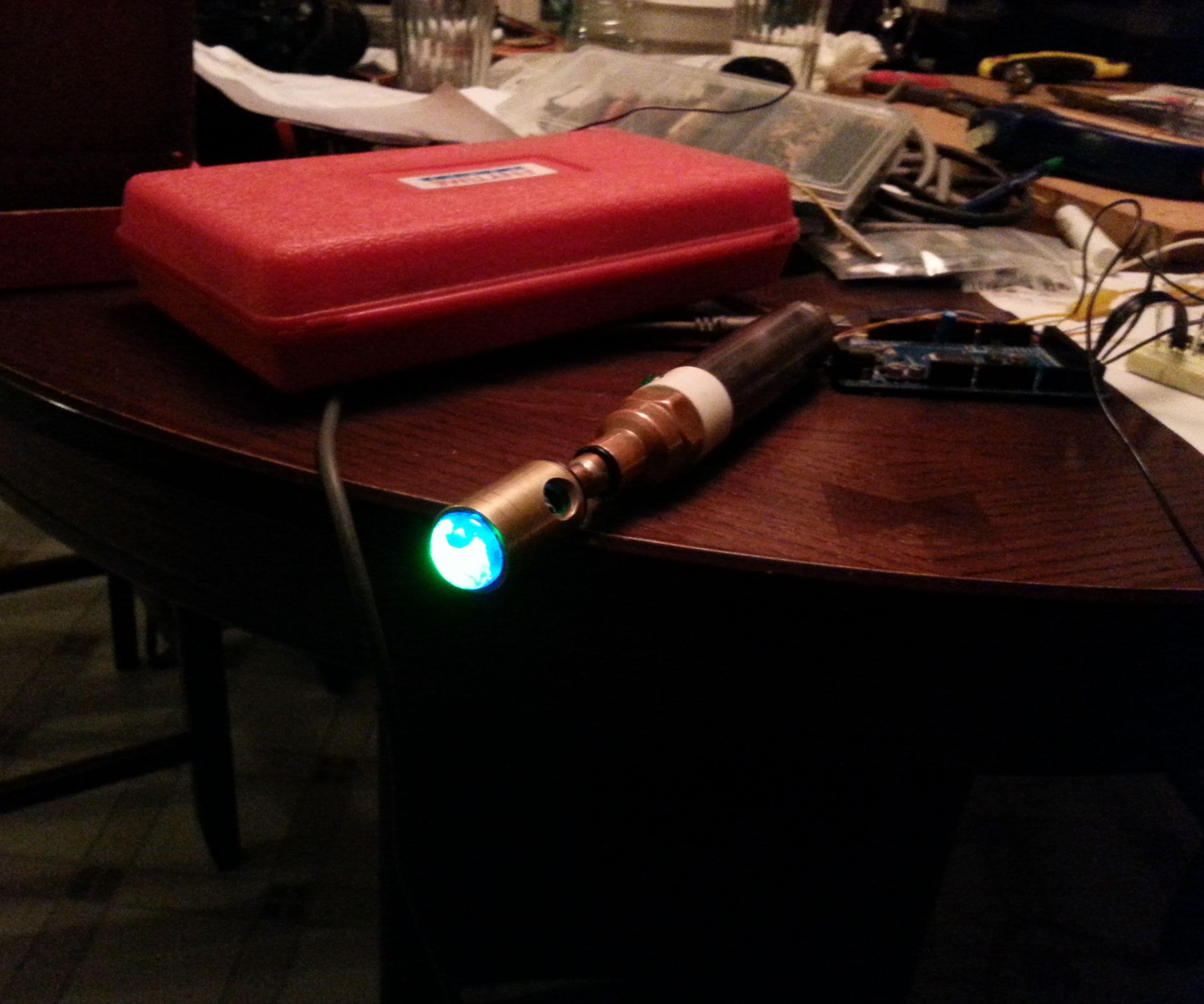 Working Sonic Screwdriver - Version 3.0