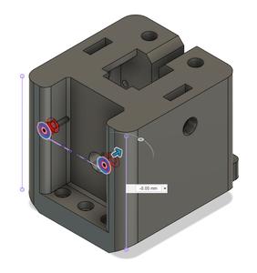 Design Process - Stationary Fixture - Reinforcement Screw Holes