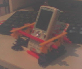 Phone Dock Out of Knex