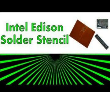 Soldering Intel Edison Connector