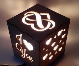 Romantic Night Table Lamp