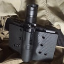 Kydex Flashlight Holster