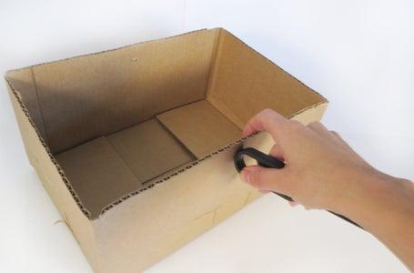 Prepare Box for Lid
