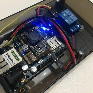 Arduino WiFi Garage Door Opener