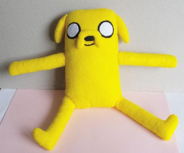 Jake the Dog Plush (FREE Template)