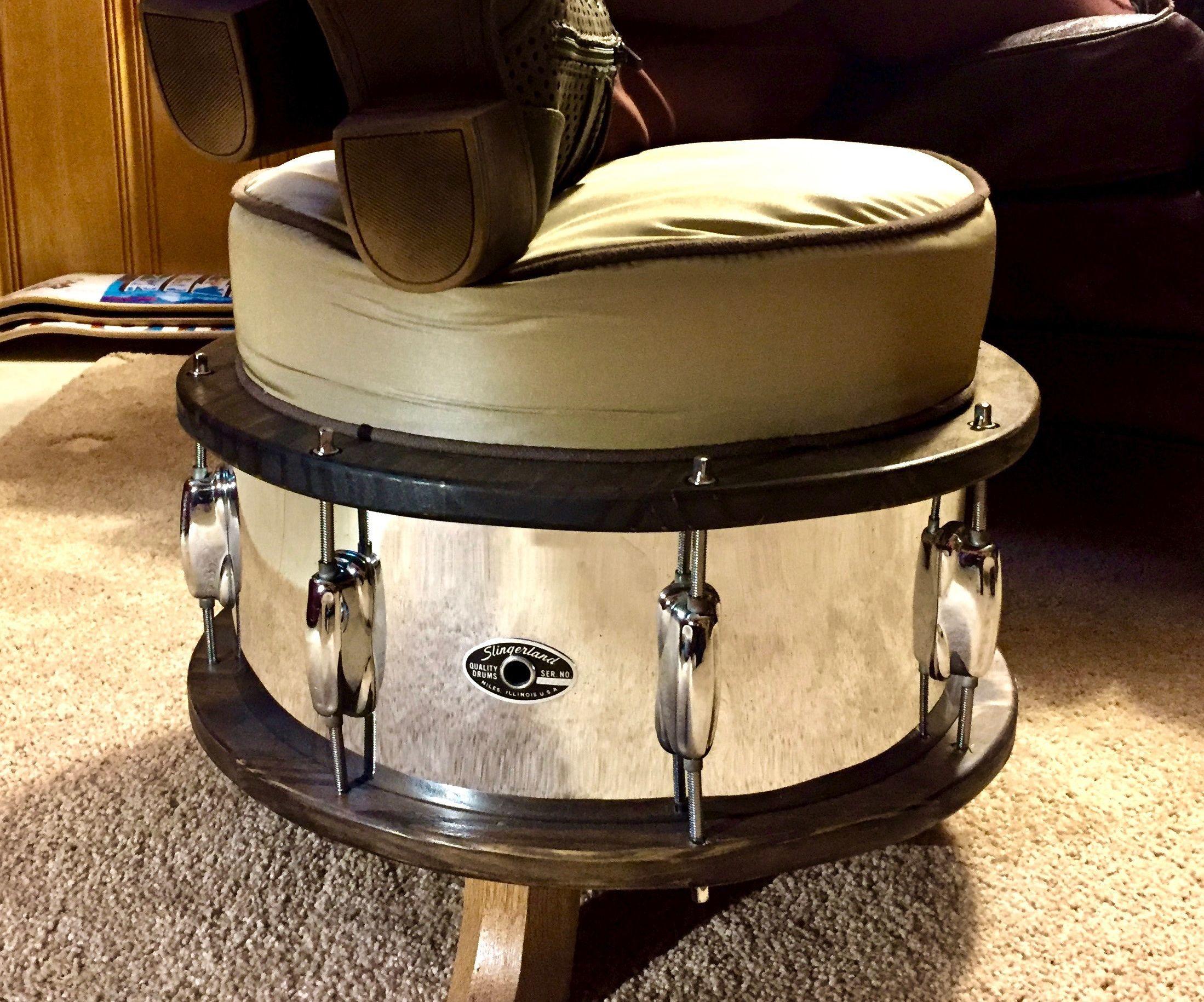 Drum Shell Ottoman