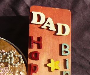 Transfering Image Onto Wood to Make a Rustic Birthday Card