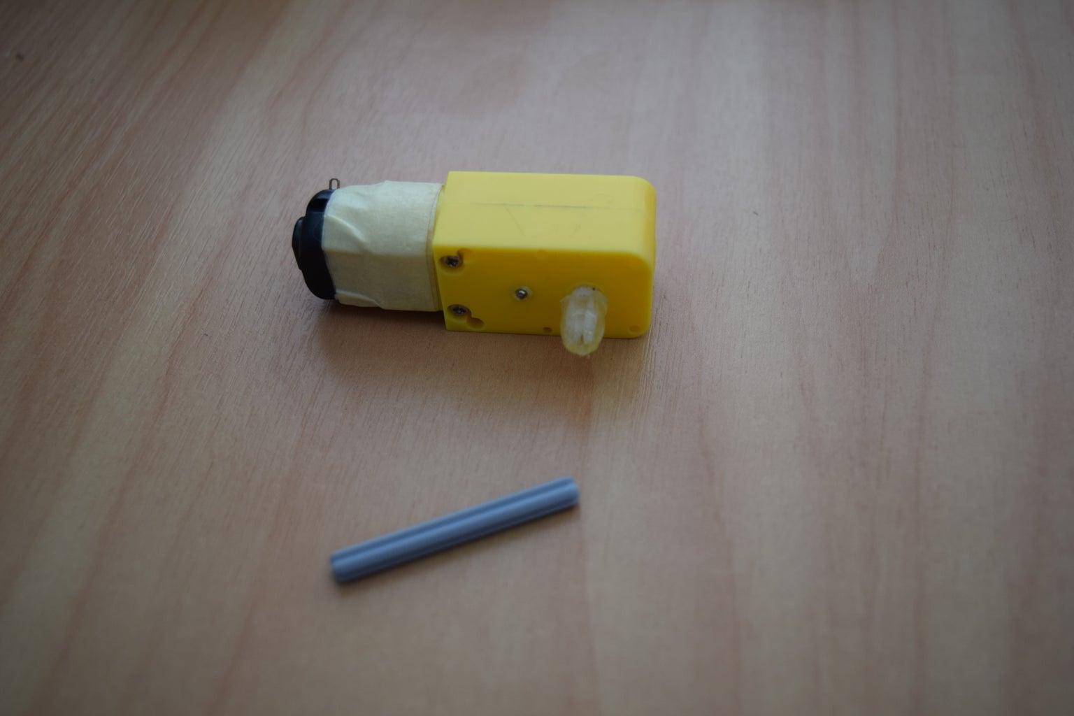 DC Gearbox Motor to Lego Adaptor