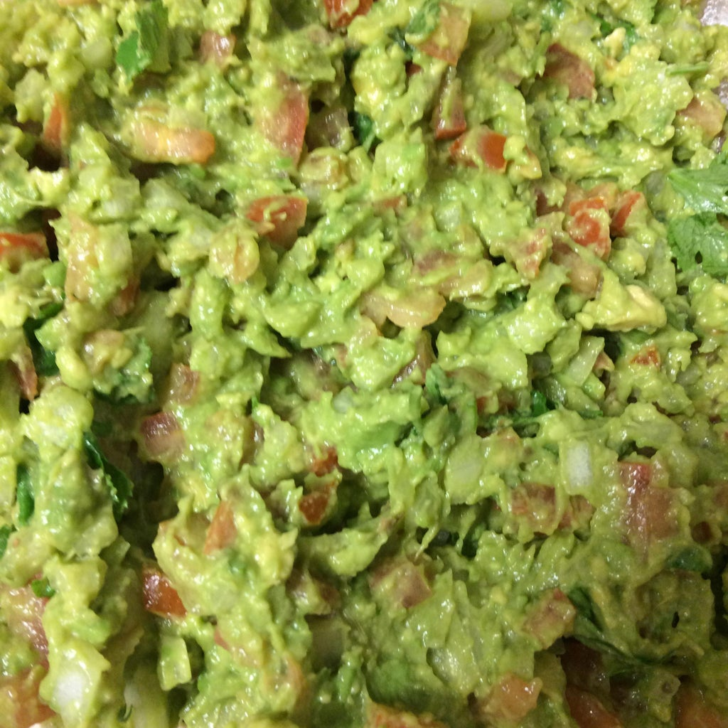 Guacamole - Recipe 3 (Avocado, Bell Peppers, Carrot +++)