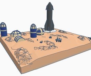 Martian Colony LBLC.1