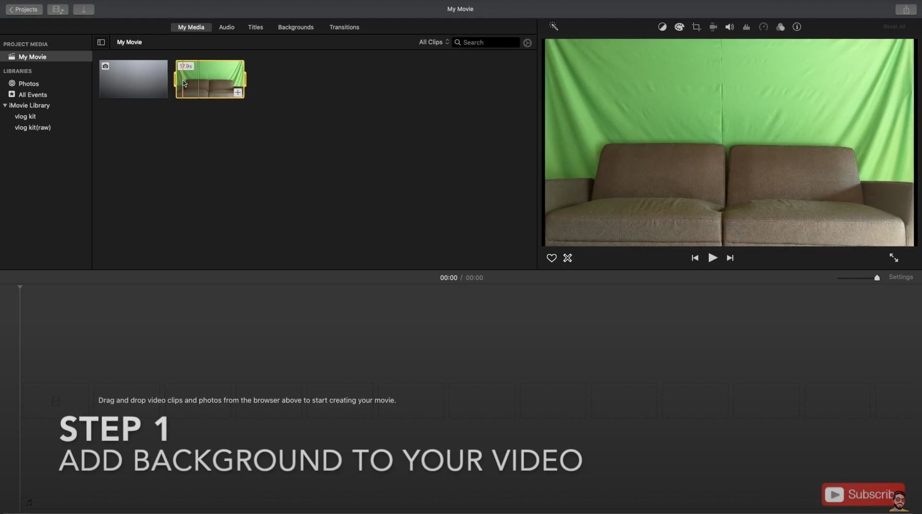Add Background to Your Video