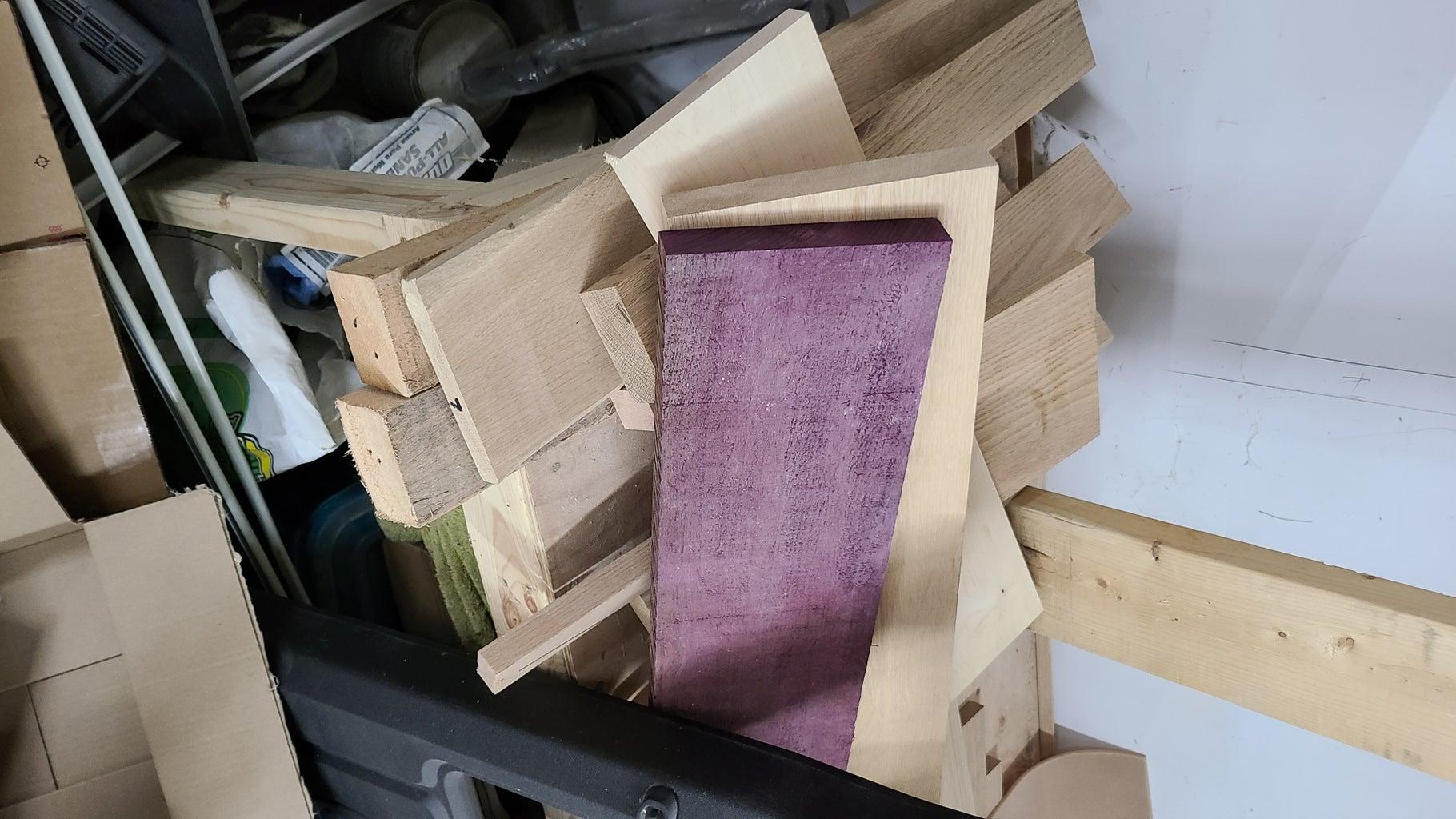 Step 1: Select Scrap Wood