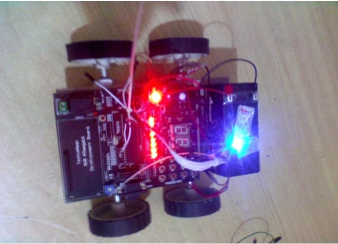 Gyro Sensor Controlled Car
