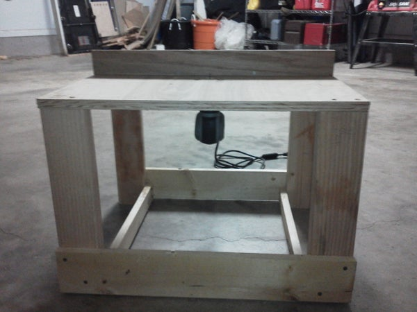 Router Table for a Dremel Trio