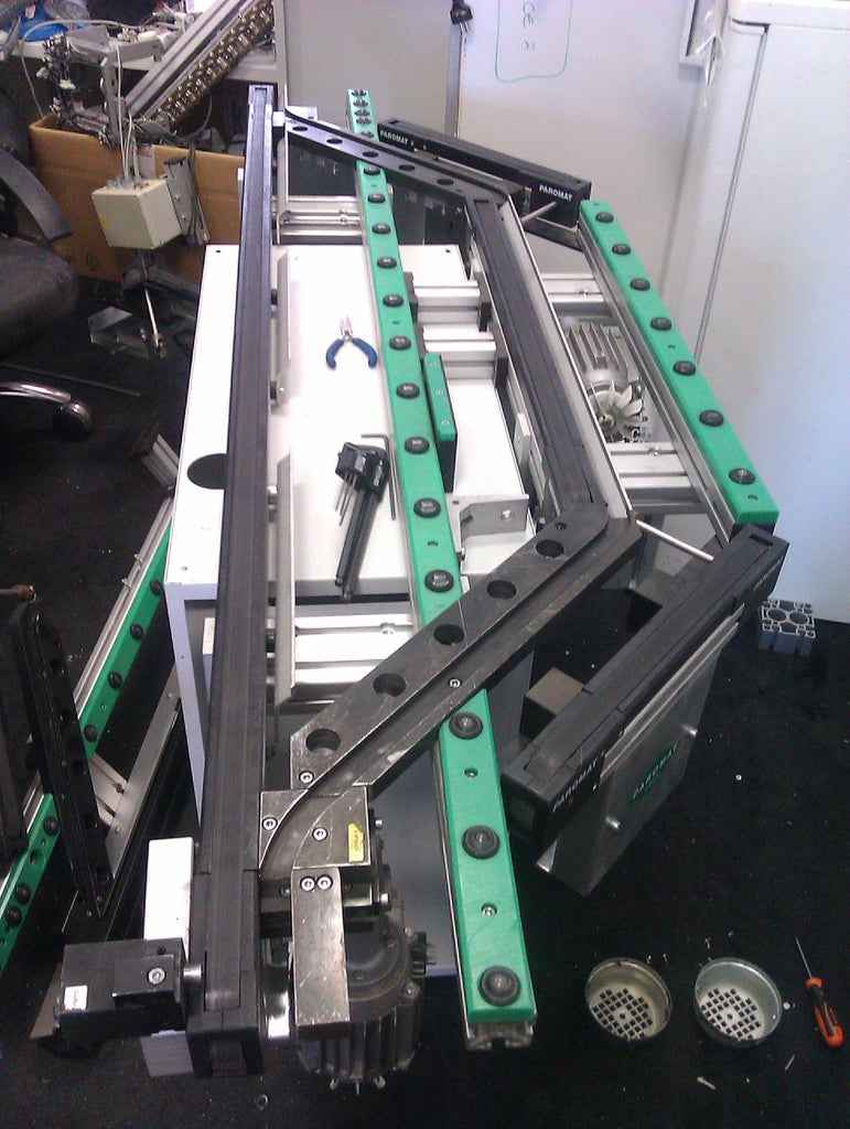 Re-assembling the Conveyor Belt From Old Parts