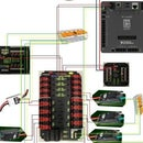Robot Electrical Panel Map Diagram