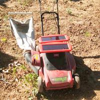 Solar Lawn Mower