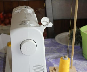 Large Thread Spool Holder on the Cheap