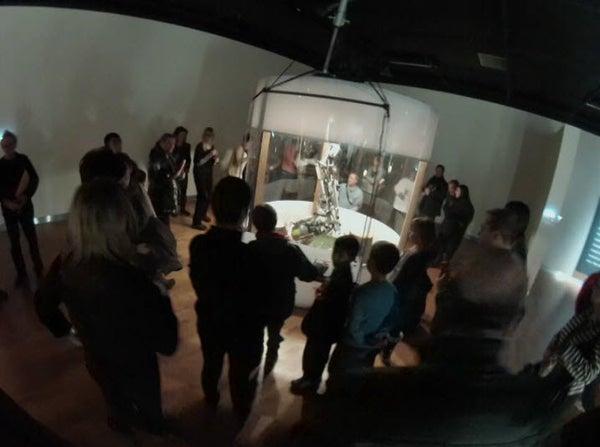Sculpture Robot (Part 2 of 9): Arcade Game Robotic Arm Controller