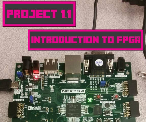 Project 1.1: Introduction to Digital Engineering and FPGA Boards