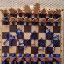 Edible chess set