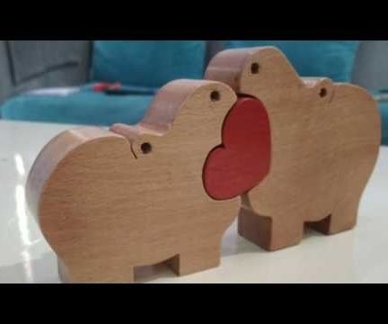 Hippo Wooden Puzzle