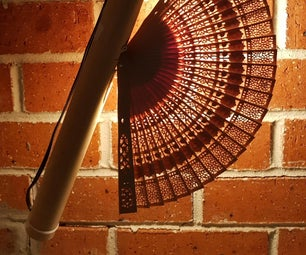 Bamboo Fan Night Light