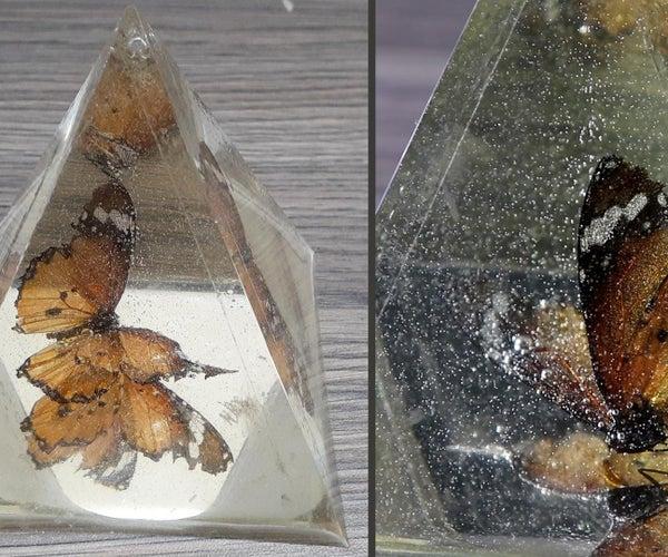 Butterfly in Epoxy Resin / DIY Resin Art