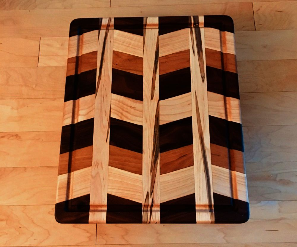 Pretty Patterned Cutting Board